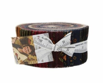 Fresh Cut Jelly Roll from Kansas Troubles for Moda by the roll