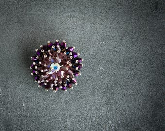 Pastiche Brooch Collection Amethyst Dream
