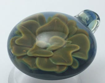 flower pendant boro