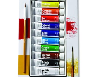 Savoir-Faire Opaque Watercolor Gouache - Set of 10