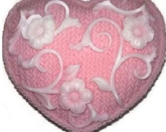 HEART Soap w/ HIDDEN MONEY Gift! Lavender Scented Bachelorette Bridal Shower Lover Wedding Anniversary Homemade 100% Natural Your Color