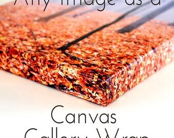 Custom Canvas Art, Custom Canvas Wall Art, Personalized Canvas Gallery Wrap, Personalized Canvas Art, Custom Canvas Wall Decor