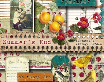 Summer's End - Printable Journal Kit