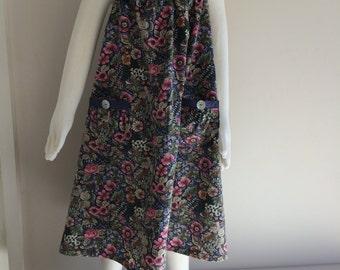 Enchanted Garden Sundress - Size 8 - Adore the Cloth