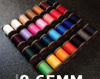 Atelier Amy Roke Polyester thread 0.65mm(432) Sewing Spool Cable Linen Leathermob Leather leathercraft Craft Tool Accessory Needlecraft