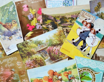 Vintage Postcard Lucky Dip