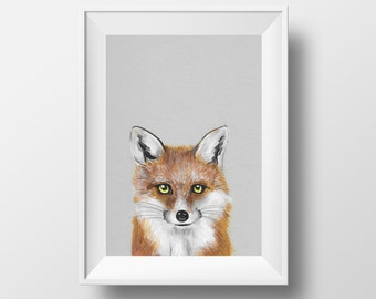Baby Fox Original Artwork