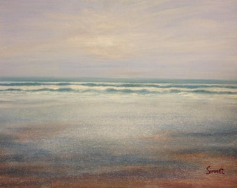 80cm x 60cm Original Art Painting Seascape Series Part #1 of 4