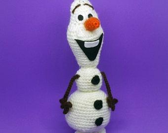 Amigurumi Patterns Olaf : Elsa anna and olaf frozen inspired amigurumi set crochet
