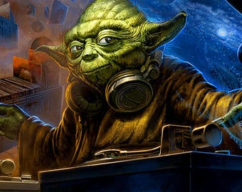 DJ Yoda -Star Wars