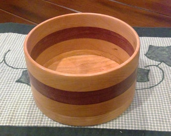 Wood Bowl / Container (Cherry and Walnut)