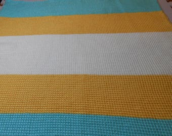 Striped Personalized Baby/Infant Blanket