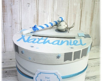 """TO order - baptism theme """"Sweets"""" urn"""