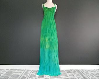 Ocean A-line Maxi Dress