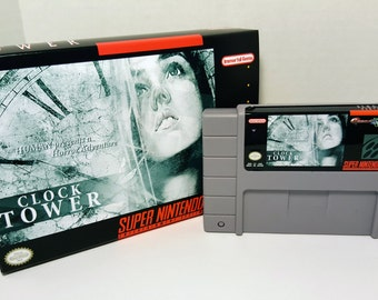 Clock Tower - English NTSC SNES - Horror Adventure