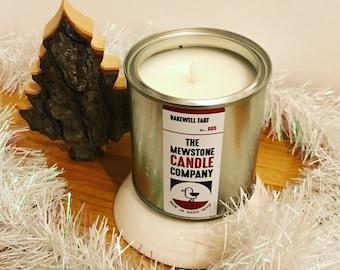 Handmade Bakewell Tart Soy Wax Candle