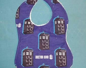 Doctor who baby bib
