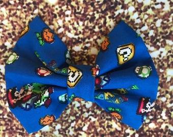 Super Mario bros Mario world bow