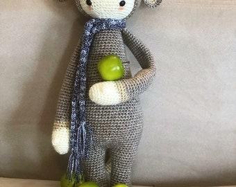 Crochet Amigurumi lalylala Rat Doll