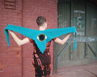 Turquoise Third Eye Scarf
