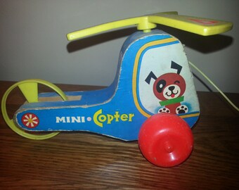 Vintage Fisher Price Mini Copter