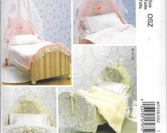 18 Inch Doll Beds/Accessories New Uncut  McCalls Sewing Pattern 7338