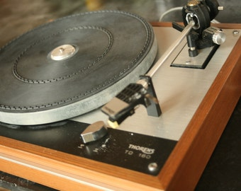 Working Thorens TD 160, Thorens TD-160 Audio Phonograph Turntable with Cartridge/Needle, Record Player, Vintage Music