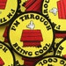 I'm Through Being Cool : 70s Inspired Embroidered Patch