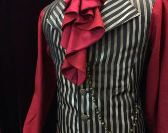 Jacob vest with shirt and jabot set 1 (Very limited quantities of each fabric choice)