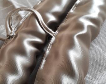 2 Handmade Designer Guild Fabric covered Hangers.