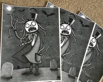 Graveyard Ghoul - Print