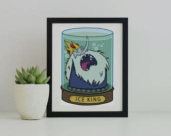 Ice King Graphic Print