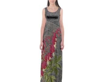 Bleeding Heart Empire Waist Dress