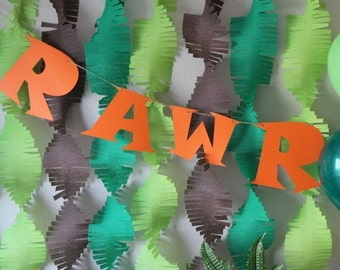 Custom RAWR Banner