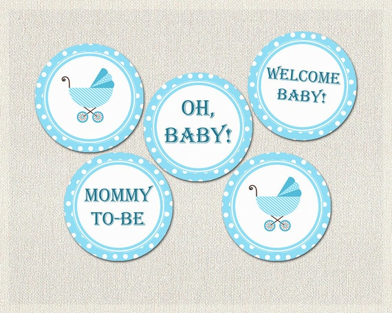 Persnickety image with printable baby shower decorations
