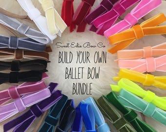 Build Your Own Ballet Bow Bundle