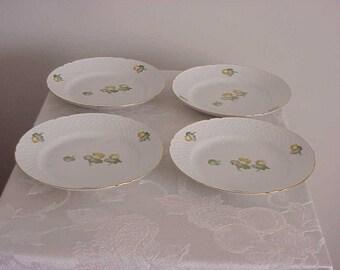 4 Bing & Grondahl Erantis Salad Plates