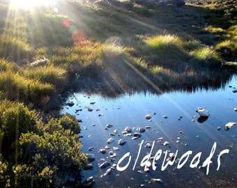 Tasmanian Sunrise Lake Dove Landscape - Downloadable Digital Image (text not included)