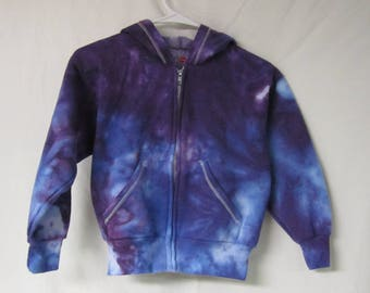Tie dye youth size S hoodie