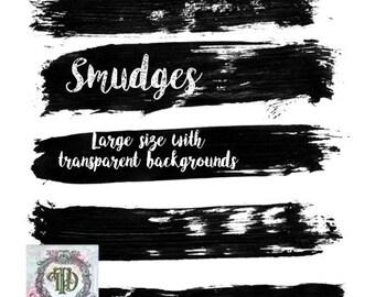 Smudges - Digital Stamps