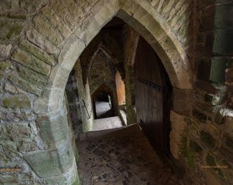 Chepstow Castle, Wales c.1067 - Staircase