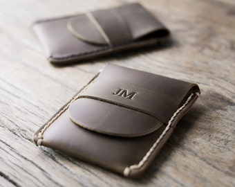 Vertical Card Wallet -- Front Pocket Approved Minimalist Design - 017