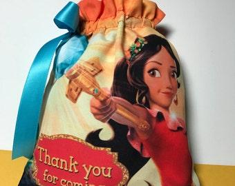 Princess Elena of Avalor favor bags, Elena of Avalor favor bags, Princess Elena  fiesta, Elena Of Avalor party.