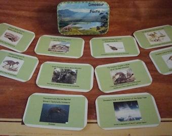 Altoids tin, Dinosaur Pocket Collector Cards, in matching tin