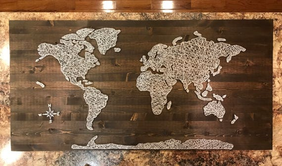 Huge world map string art gumiabroncs Image collections