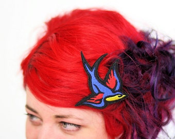 Swallow Hair Clip, Rockabilly Inspired