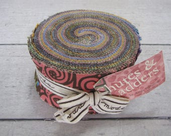 Chutes & Ladders Jelly Roll by Arrin Turnmire for Moda