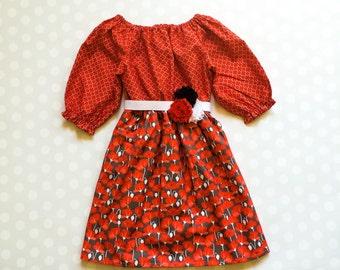 Poppy Fields Dress - Spring Dresses - Girls Dresses - Girls Dress - Baby Dress - Baby Girl Dresses - Poppy Dress - Baby Dresses - Poppies