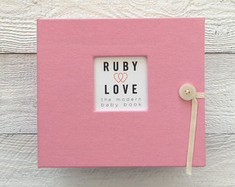 BABY BOOK | Solid Baby Pink Album
