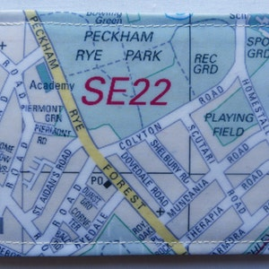 London map oyster card holder Etsy